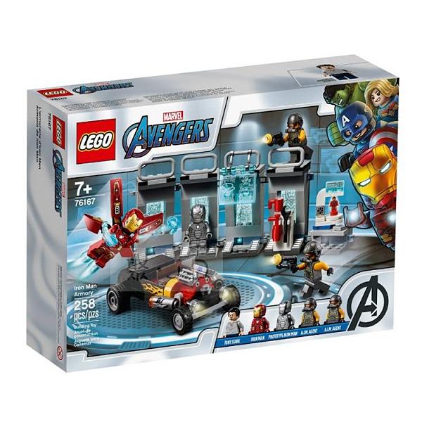 76167【LEGO 樂高積木】Marvel 漫威英雄系列 -鋼鐵人裝甲室 Iron Man Armory