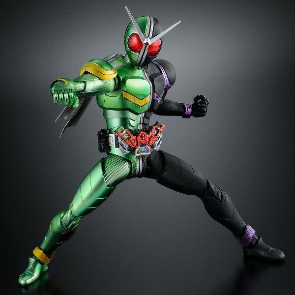【預購 4-5月】BANDAI 組裝模型 MG Figure-rise ARTISAN 假面騎士 W 旋風王牌形態