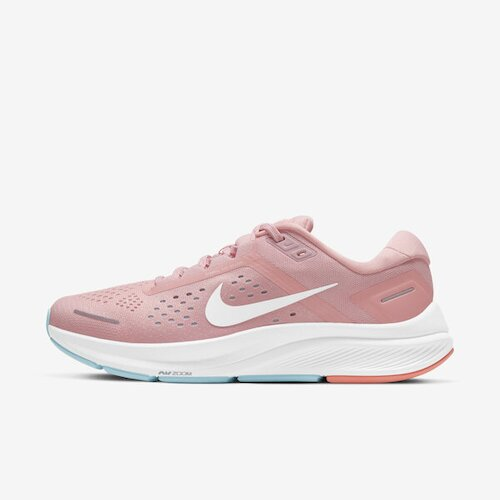 Nike W Air Zoom Structure 23 [CZ6721-601] 女鞋 運動 休閒 慢跑 緩震 粉紅