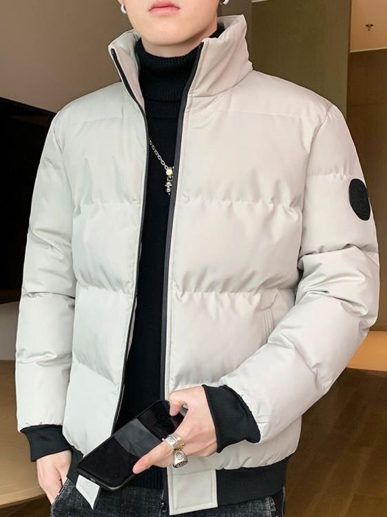 男士外套秋冬季2020新款男裝棉衣韓版潮流短款棉襖加厚羽絨棉服男