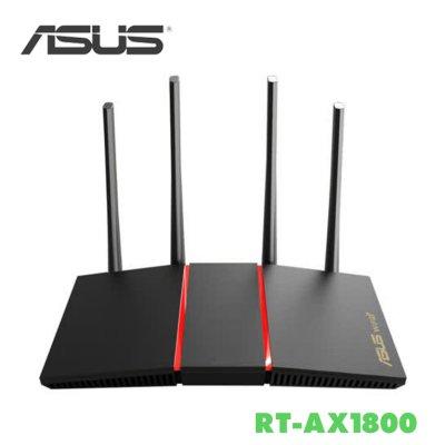 免運 ASUS 華碩 RT-AX1800 PLUS 雙頻 WiFi 6 無線路由器 網路分享器 Giga