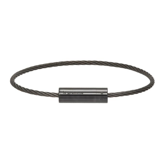 Le Gramme 黑色 Le 5 Grammes Cable 抛光陶瓷手环