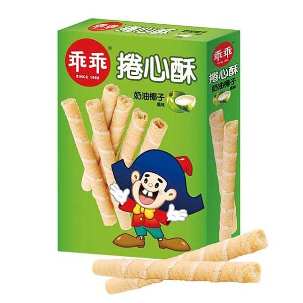 乖乖捲心酥-奶油椰子150g 【康鄰超市】