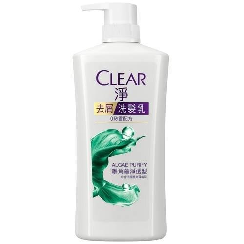 CLEAR淨女士去屑洗髮乳-墨角藻淨透型750g【愛買】