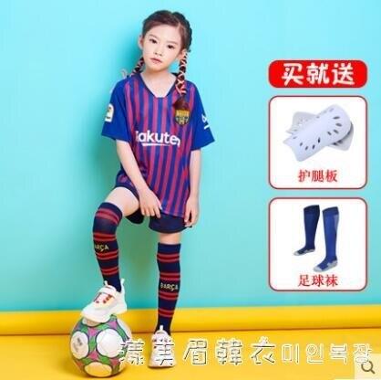 秋冬季兒童足球服訓練服四件套套裝男童女小學生足球運動隊服長袖