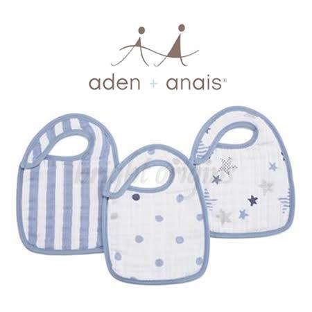 美國Aden+Anais 圍兜兜(3入裝) 搖滾巨星款7112