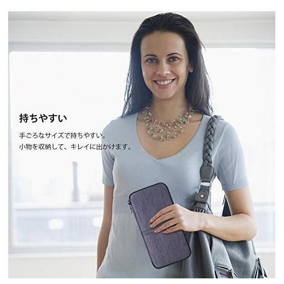日本限定禮 多功能收納夾 旅行長夾 護照包 票卡夾 旅行出遊 zbs81
