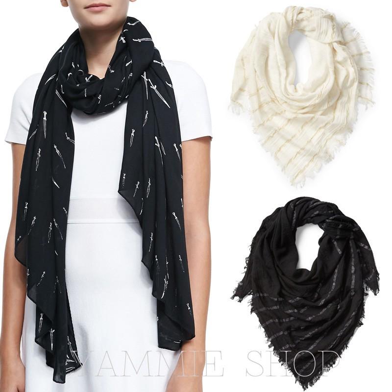 時尚紐約風 專櫃買 貴太多 歐美金絲條紋棉麻 披肩 圍巾 媽媽 女友 生日 禮物 zsj66