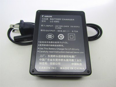 canon/佳能LP-E8電池充電器EOS 550D 600D 650D 700D單反相機座充『S219』
