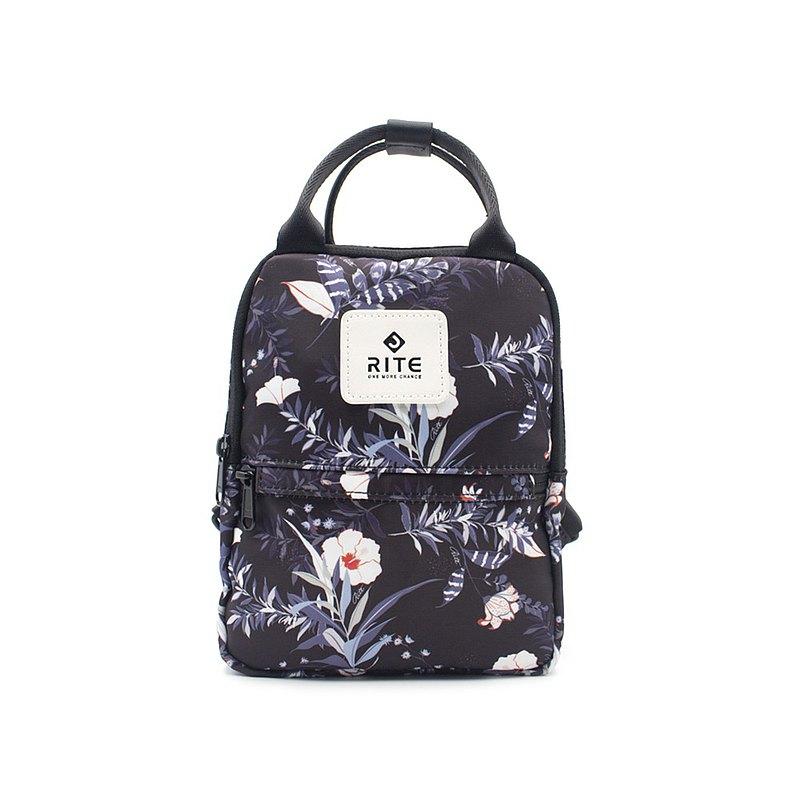 【RITE】V3露可小包 小後背包 多種背法 熱帶花