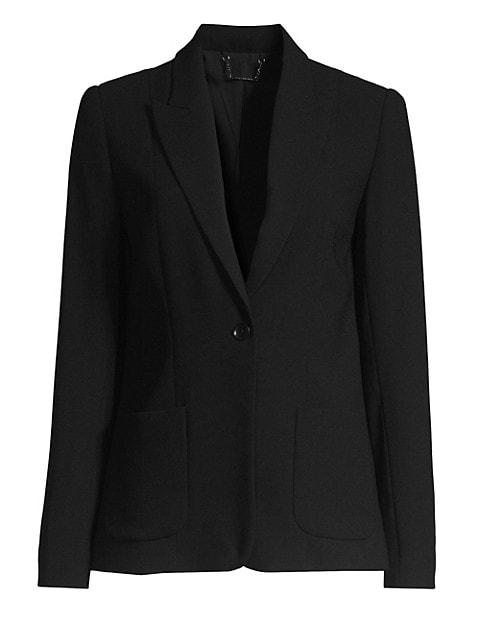 Wendy Fluid Crepe Jacket