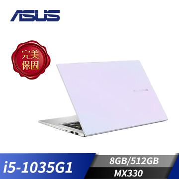ASUS華碩 VivoBook 14 筆記型電腦(i5-1035G1/8GB/MX330/512GB)(X413JP-0021W1035G1)