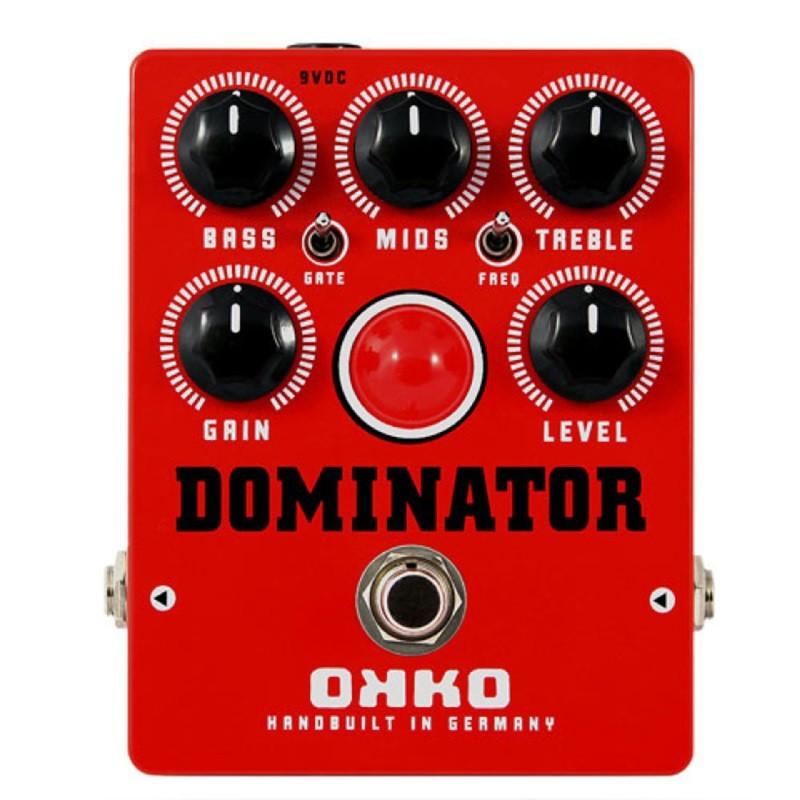 okko dominator distortion mkii red 效果器 總代理公司貨 -