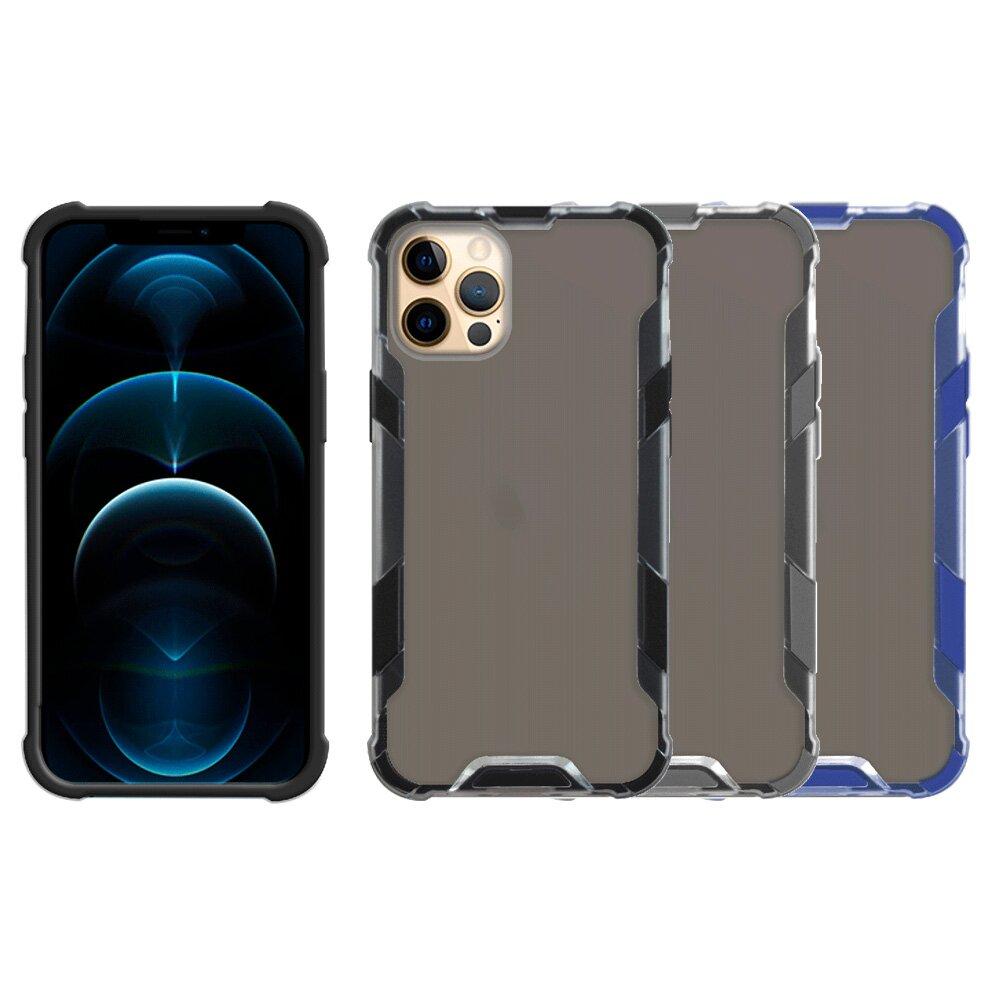 Metal-Slim Apple iPhone 12 Pro 霧面雙料膚感防摔手機殼
