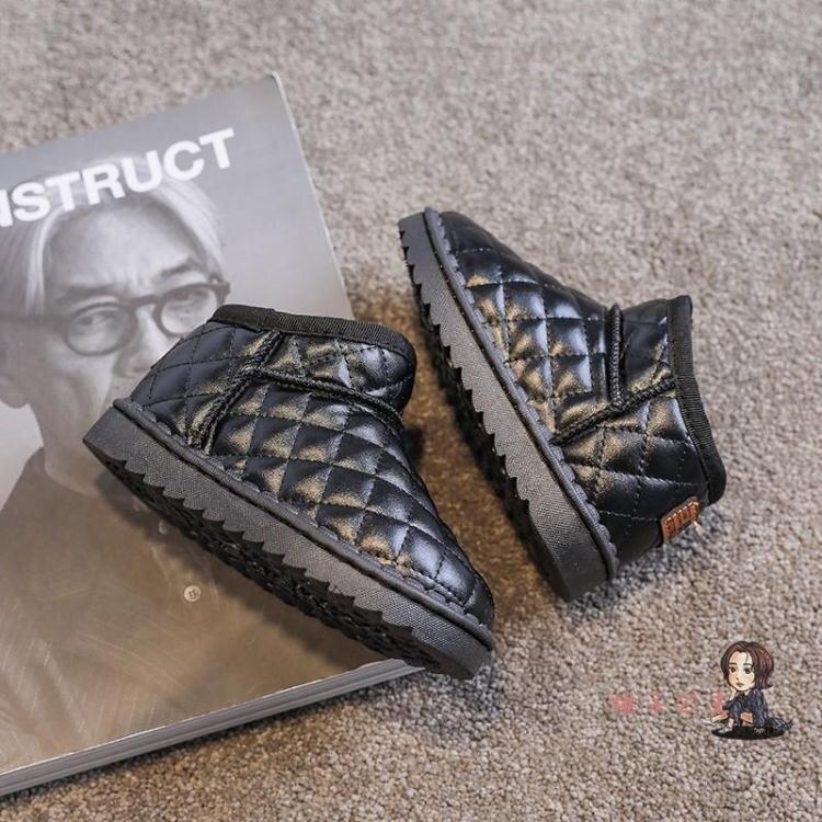 女童雪地靴 兒童棉鞋2020年冬季新款加厚刷毛 保暖雪地靴女童冬鞋軟底大棉鞋潮 家家百貨
