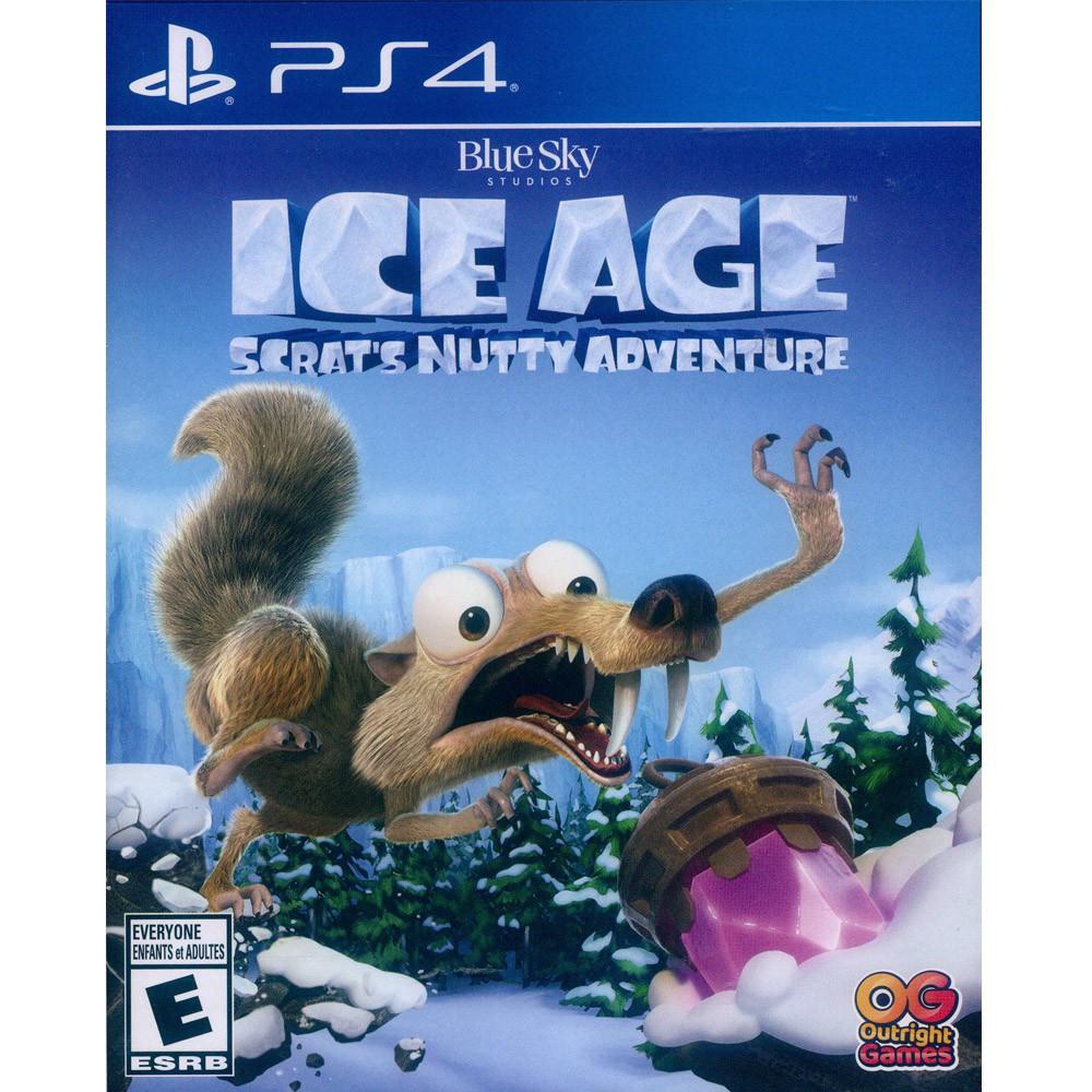 PS4 冰原歷險記:鼠奎特的堅果冒險 中英文美版 ICE AGE: Scrat's Nutty 【一起玩】