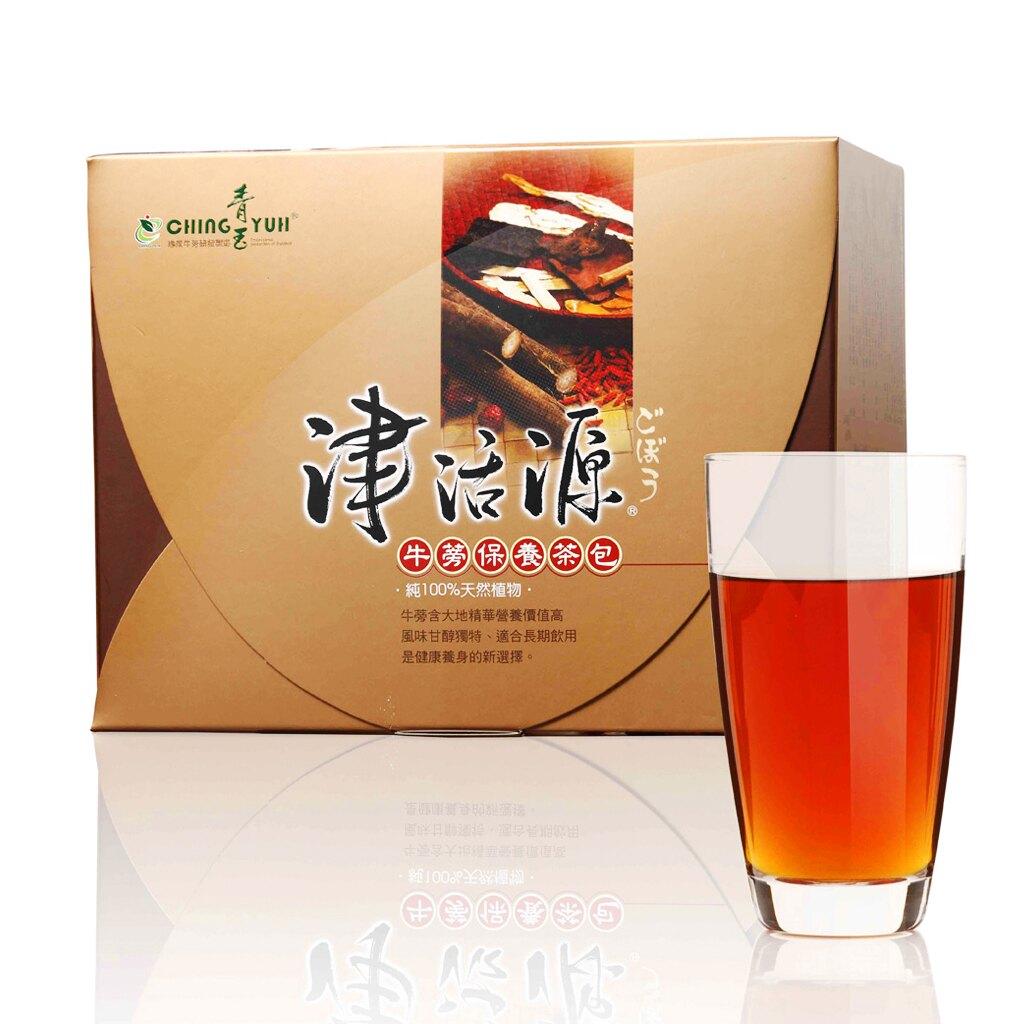青玉牛蒡茶 津活源西洋蔘牛蒡茶包(6g*50包/盒) 可沖泡 可當湯包煮火鍋|樂天年貨大街 過年伴手禮 年節禮盒