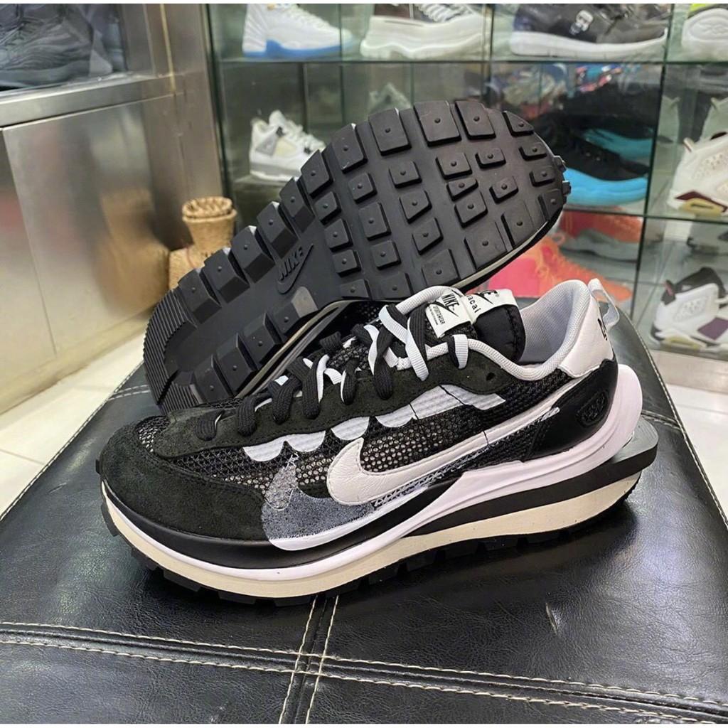 全新正品 Sacai x Nike VaporWaffIe 黑白 CV1363-001 休閒鞋 男女鞋 預購