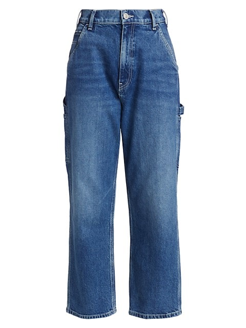 Carpenter High-Rise Loose Straight Jeans