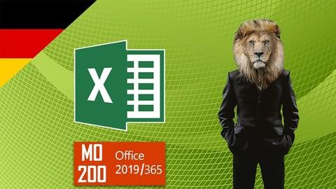 MO-200 MOS Excel 2019/365 Training (Deutsch)