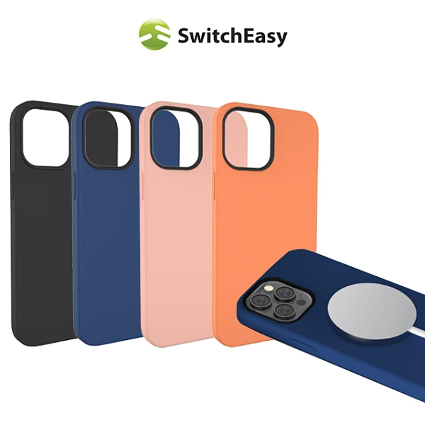SwitchEasy Magskin iPhone 12 mini 5.4吋 磁吸防摔矽膠保護殼