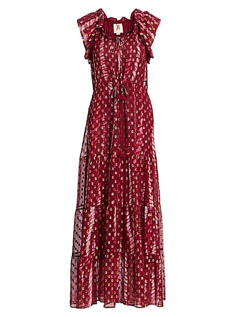 Global Caravan Gianna Maxi Dress