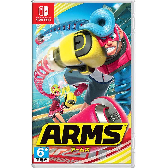 NS 任天堂 Switch 神臂鬥士 ARMS 中文版