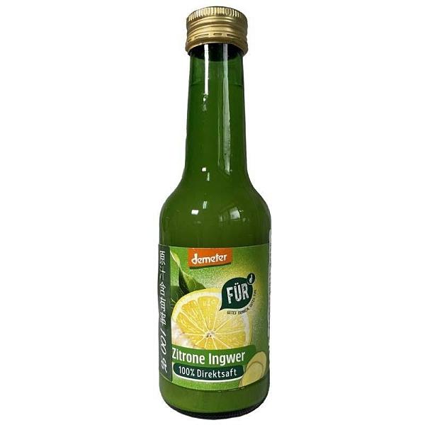 Voelkel~FÜR 檸檬薑原汁200ml/罐