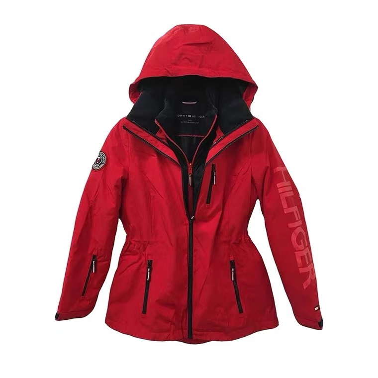 Tommy Hilfiger 衝鋒外套 三合一防風防水兩件式保暖外套 風衣 大衣 外套