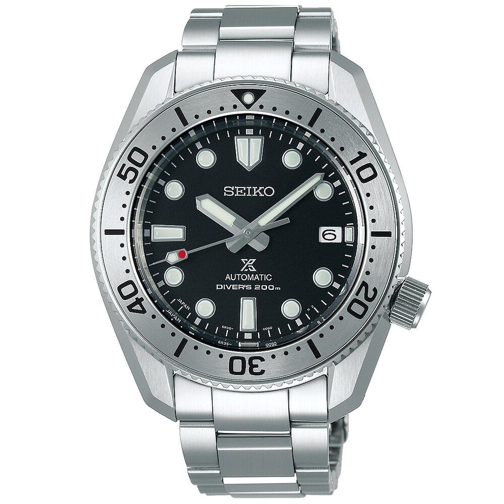 精工【SEIKO】Prospex DIVER SCUBA 1968復刻200米潛水機械錶(SPB185J1/6R35-01E0D)-42mm