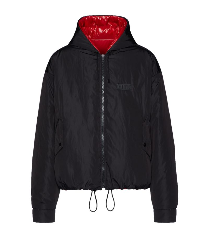 Valentino Reversible Hooded Jacket