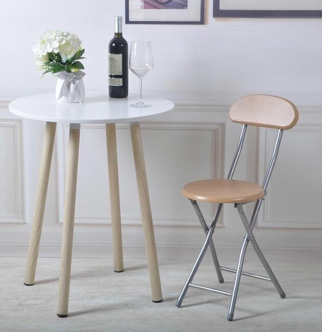 摺疊椅子便攜摺疊凳家用餐椅凳子辦公椅電腦椅簡約現代休閒靠背椅