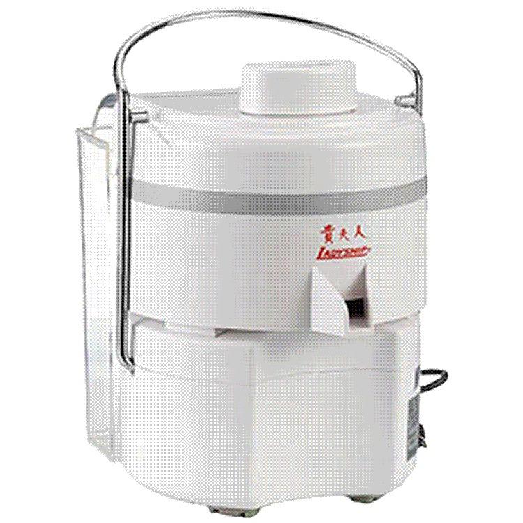 貴夫人新果菜研磨榨汁機(可榨老薑及蒜頭原汁)