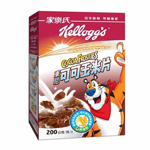 家樂氏 東尼可可玉米片 200g/盒【康鄰超市】
