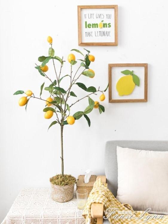 「樂天優選」仿真綠植盆栽室內假樹ins客廳落地擺件裝飾北歐假花植物
