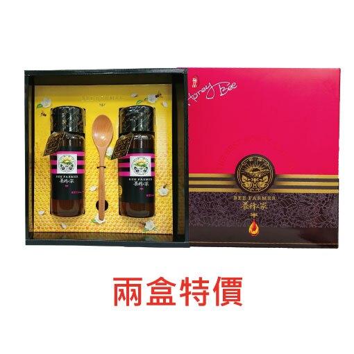 【蜂度新年 2盒85折】極品臻藏禮盒 雙蜜禮盒 蜂蜜425g*(2瓶)_2盒組 口味任選/精選禮盒/蜂蜜禮盒/送禮 【養蜂人家】
