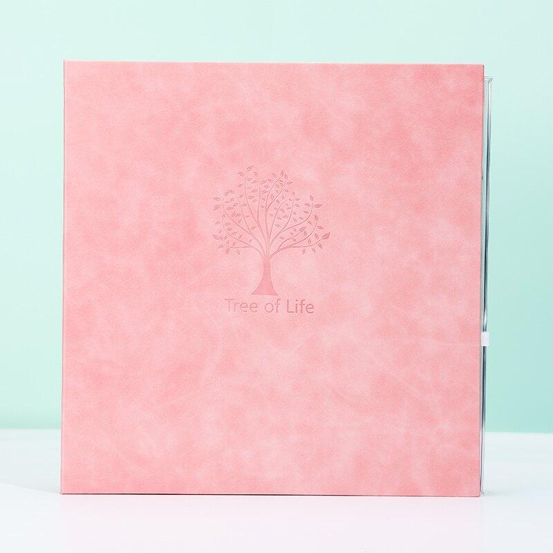 畢業紀念冊 皮面大容量手工製作diy自黏黏貼式覆膜相冊家庭影集畢業紀念冊本