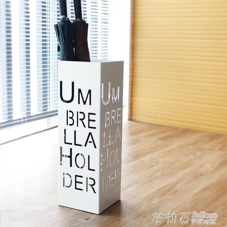 雨傘架 曹喜歡時尚創意字母鐵藝辦公雨傘架門廳家裝收納掛傘架雨傘桶放傘