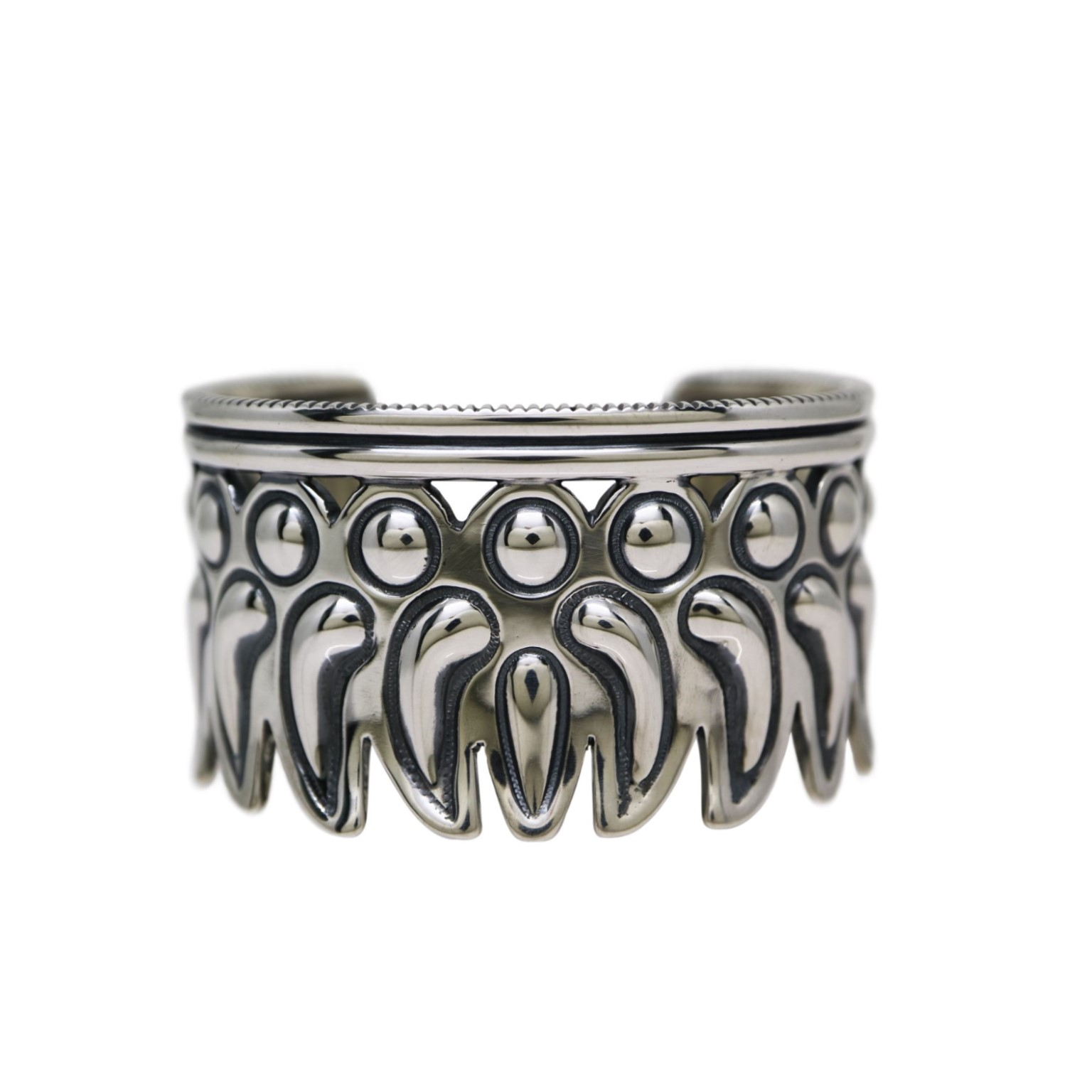 REPO FEATHER INWARD CUFF [USD $2700]