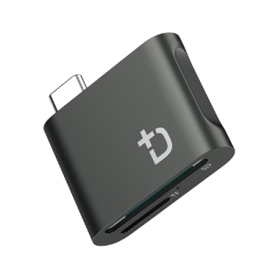 DockCase USB-C to SD/TF 讀卡器