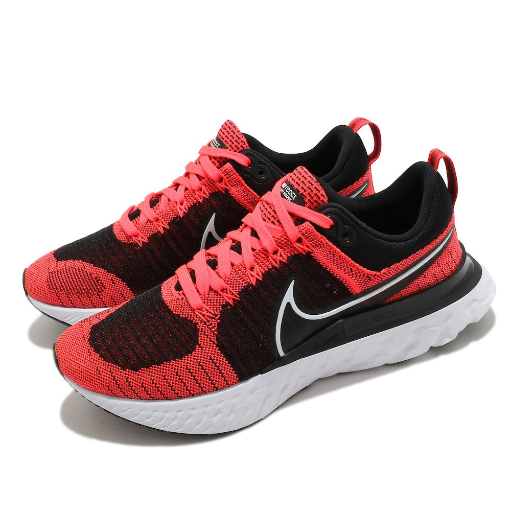 NIKE 慢跑鞋 React Infinity Run 男鞋 輕量 透氣 舒適 避震 路跑 健身 紅 黑 [CT2357-600]