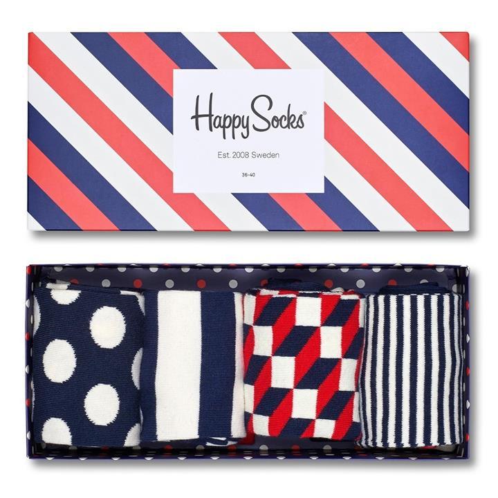 Happy Socks 彩色女襪四入組