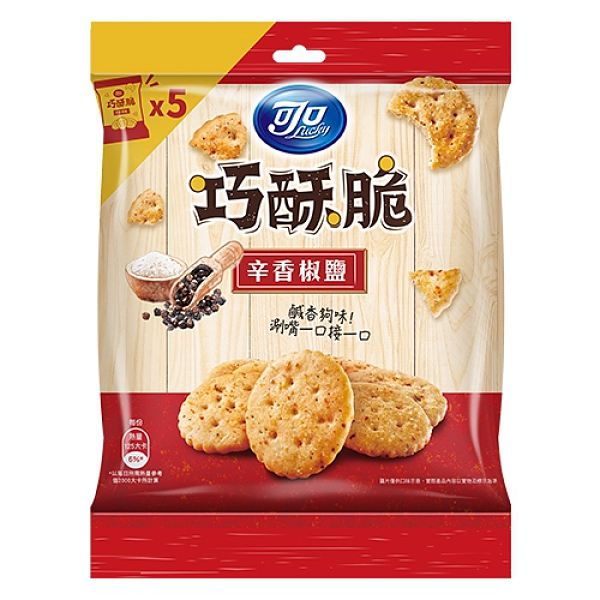 《可口》可口巧酥脆辛香椒鹽口味分享包125G【愛買】