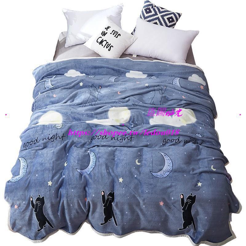 【特價】冬季毯子被子加厚保暖床墊毛毯墊法蘭加絨毛絨床單法萊珊瑚絨單件
