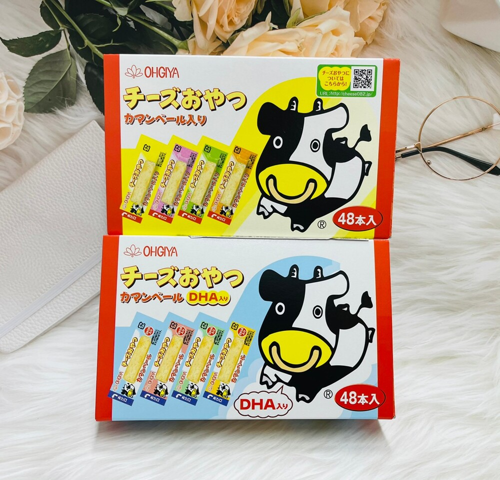 扇屋食品ohgiya鱈魚起司條 乳酪條 48入 經典原味/dha添加