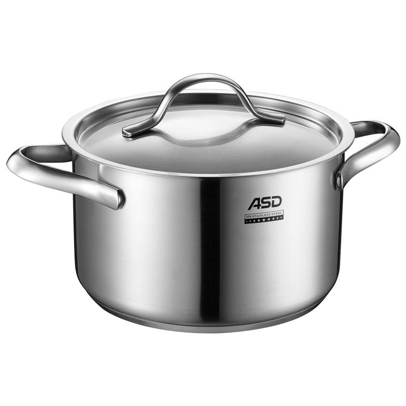 ASD威爾士304不鏽鋼湯鍋20cm