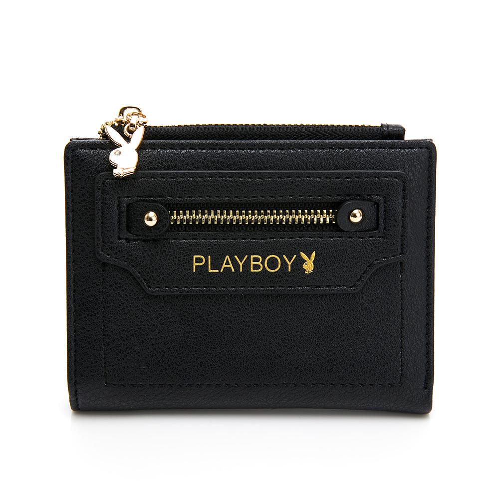 PLAYBOY-短夾 Original系列 -黑色(501-6403-09-2)