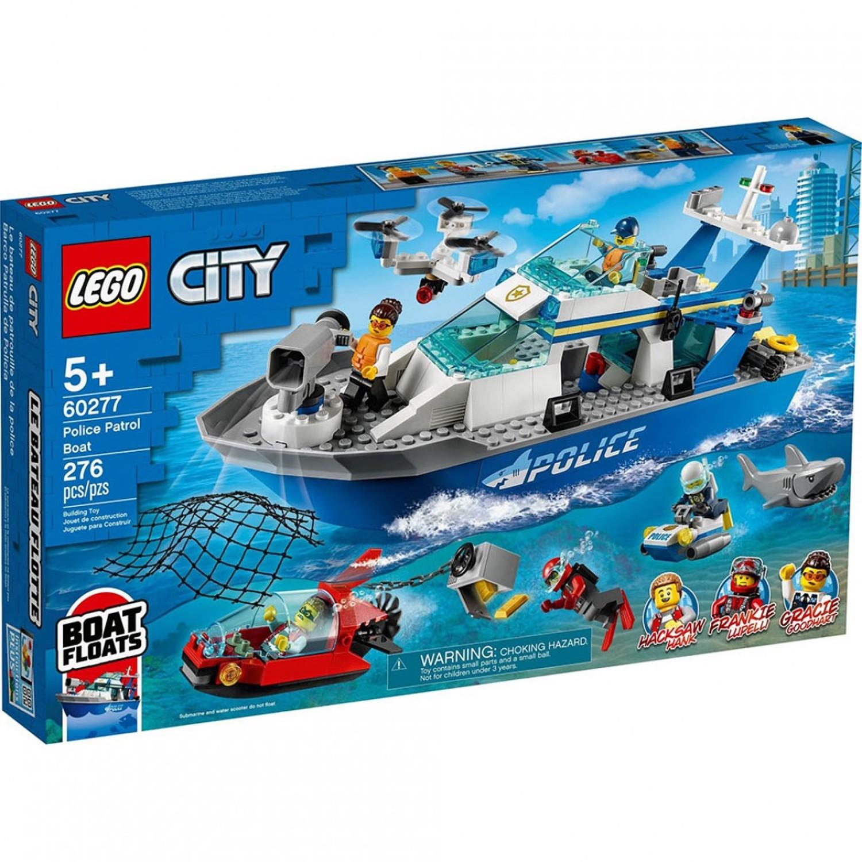 樂高 LEGO - 樂高積木 LEGO《 LT60277 》City 城市系列 - 警用巡邏艇-276pcs