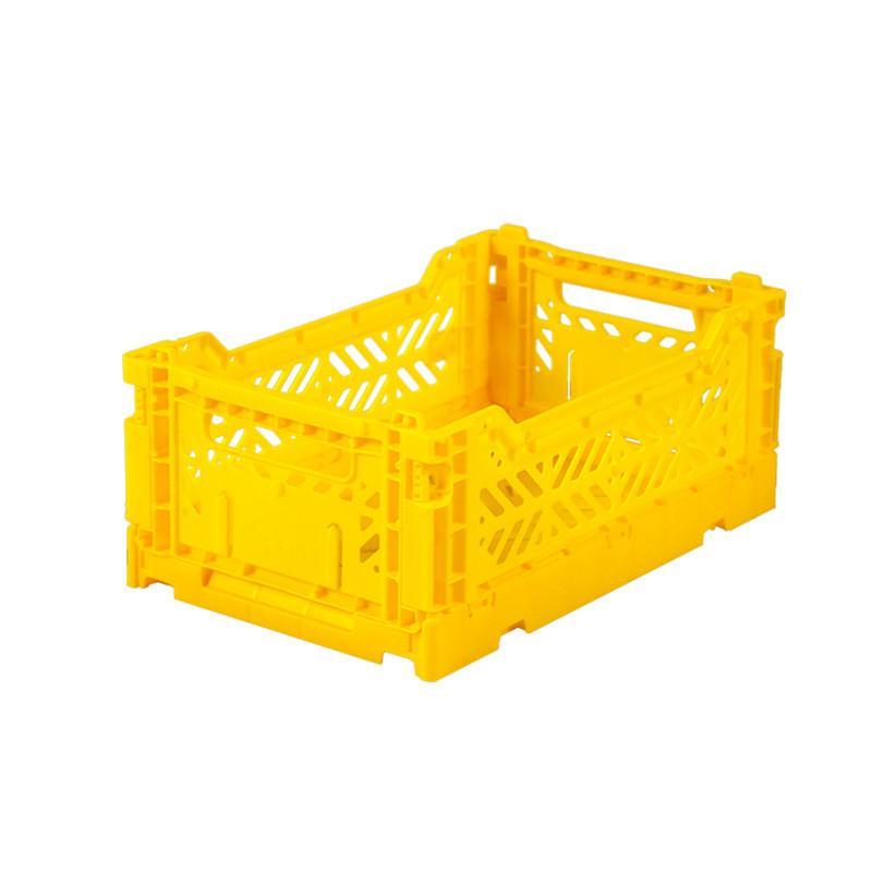 折疊收納箱 S (2入) - 鮮黃色