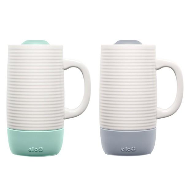 (代購)Ello 陶瓷馬克杯 500毫升 2件組